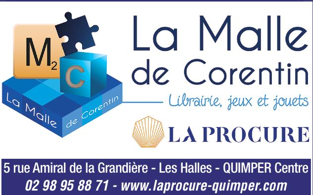 Librairie La Malle de Corentin - La Procure à Quimper
